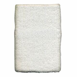 Schweißband einfarbig - weiß - XL