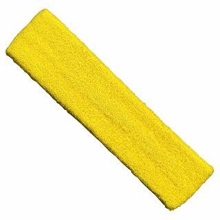 Stirnband einfarbig - gelb - goldgelb