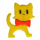 Pin - Cat - yellow-orange - Badge