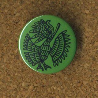 Button - Mexiko - Vogel - Anstecker