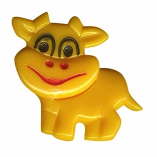 Pin - Little cow - yellow - Badge
