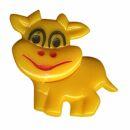 Broche - Vaca peque?a - amarillo - Pin