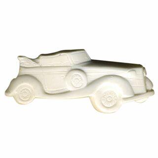 Spilla - auto - bianco - fermaglio DDR
