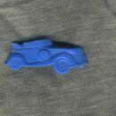 Anstecker - Auto - blau - DDR Anstecknadel