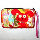 Pencil case made of cotton - Bunny big - Patchwork...