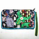 Pencil case made of cotton - Elk big - Patchwork Pattern...