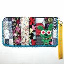 Pencil case made of cotton - Bunny small - Patchwork...