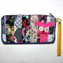 Pencil case made of cotton - Horror Bunny small -...