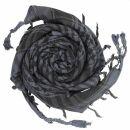 Palituch - einfach gewebt grau-dunkelgrau - schwarz -...