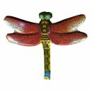 Metal Pin - Dragonfly red - Badge