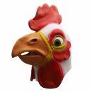 Latex mask - Cock - white