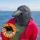 Latex mask - Crow