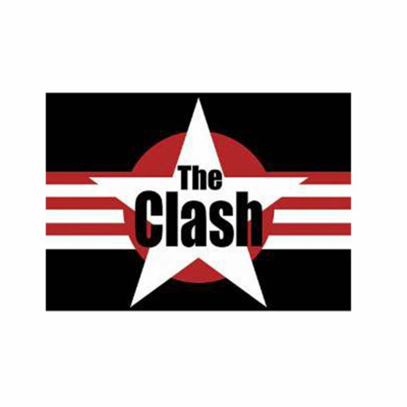 Postkarte - The Clash - Logo