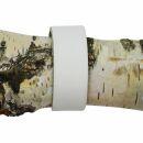 Leather bracelet blank -S- - white