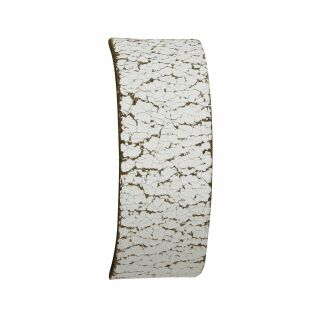 Leather bracelet blank -S- ancient-white