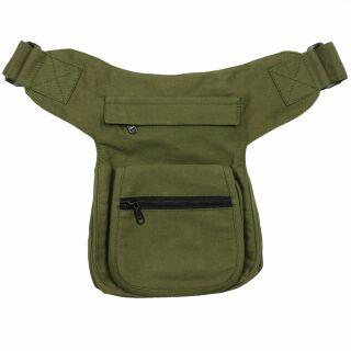 Gürteltasche - Kurt - grün-oliv - Bauchtasche - Hüfttasche