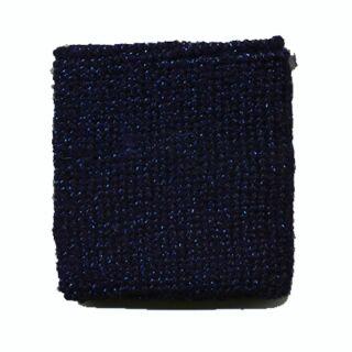 Polsino - Fascia da polso tergisudore tinta unita - blu - con glitter