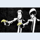 Canvas print - Streetart - Gangster with banana - Photo...