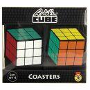 Untersetzer Set - Rubiks Zauberwürfel