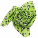 Cotton Scarf - Freak Butik logo-figure green-light -...