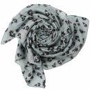 Cotton Scarf - Freak Butik logo-figure grey - squared...