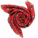 Cotton Scarf - Freak Butik logo-figure red - squared...