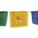 Banderas tibetanas de oración - 10 cm de ancho -...