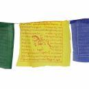 Banderas tibetanas de oración - 17 cm de ancho -...
