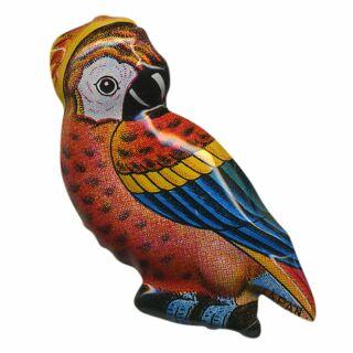 Blechanstecker - Vogel 4a - Anstecker aus Blech