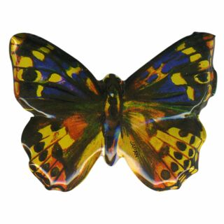 Metal Pin - Butterfly yellow-blue - Badge