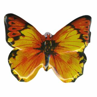Metal Pin - Butterfly yellow - Badge