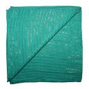 Pañuelo de algodón - verde-verde turquesa...