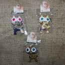 Doll with button-eyes - Cheeky Cat - Set of 3 - 02 -...
